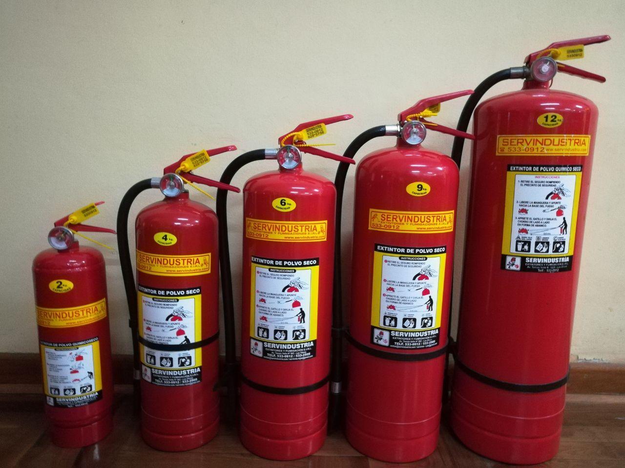 Extintores - Extintor para casa ...