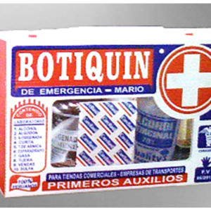 BOTIQUIN VEHICULAR 30x20x8cms
