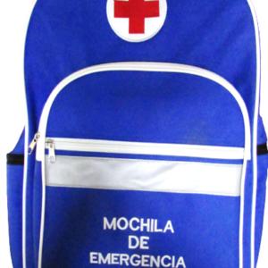 MOCHILA DE EMERGENCIA AZUL 45x34x9cm