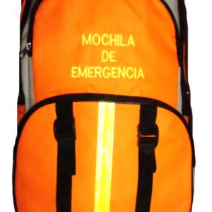 MOCHILA DE EMERGENCIA NARANJA 45x34x9cm